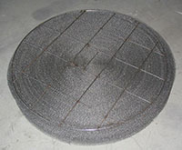 Rolled-Wire-Mesh-Pad-with-Lightweight-Top-and-Bottom-Grids