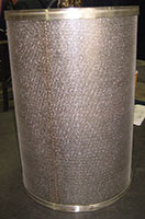 Wire-Mesh-in-Flanged-Cylinder-Perforated-Plate-Exterior