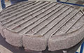 5-Segment-Stacked-and-Wrapped-Wire-Mesh-Pad-with-Heavy-Duty-Banded-Grids